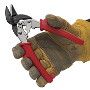 Malco AVM6 EV Mini Aviation Snips, Left Offset Cutting
