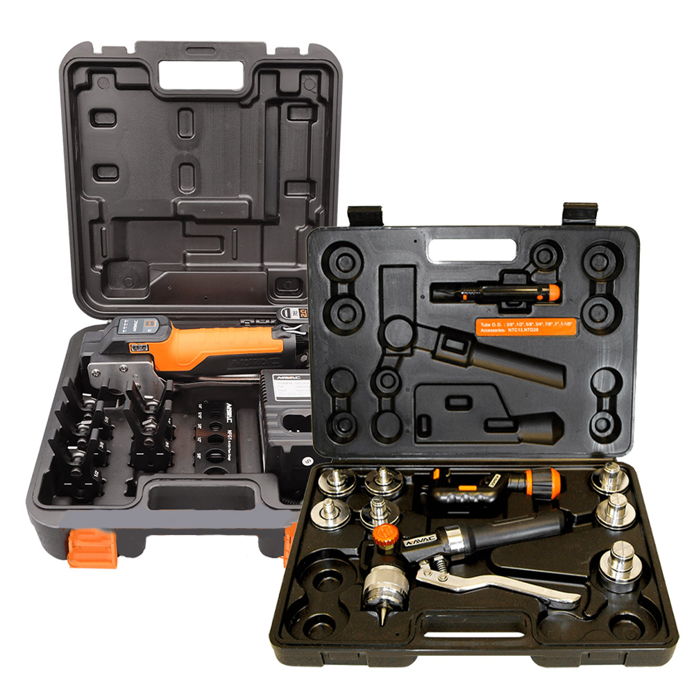NAVAC Flaring and Swaging Tool Kit
