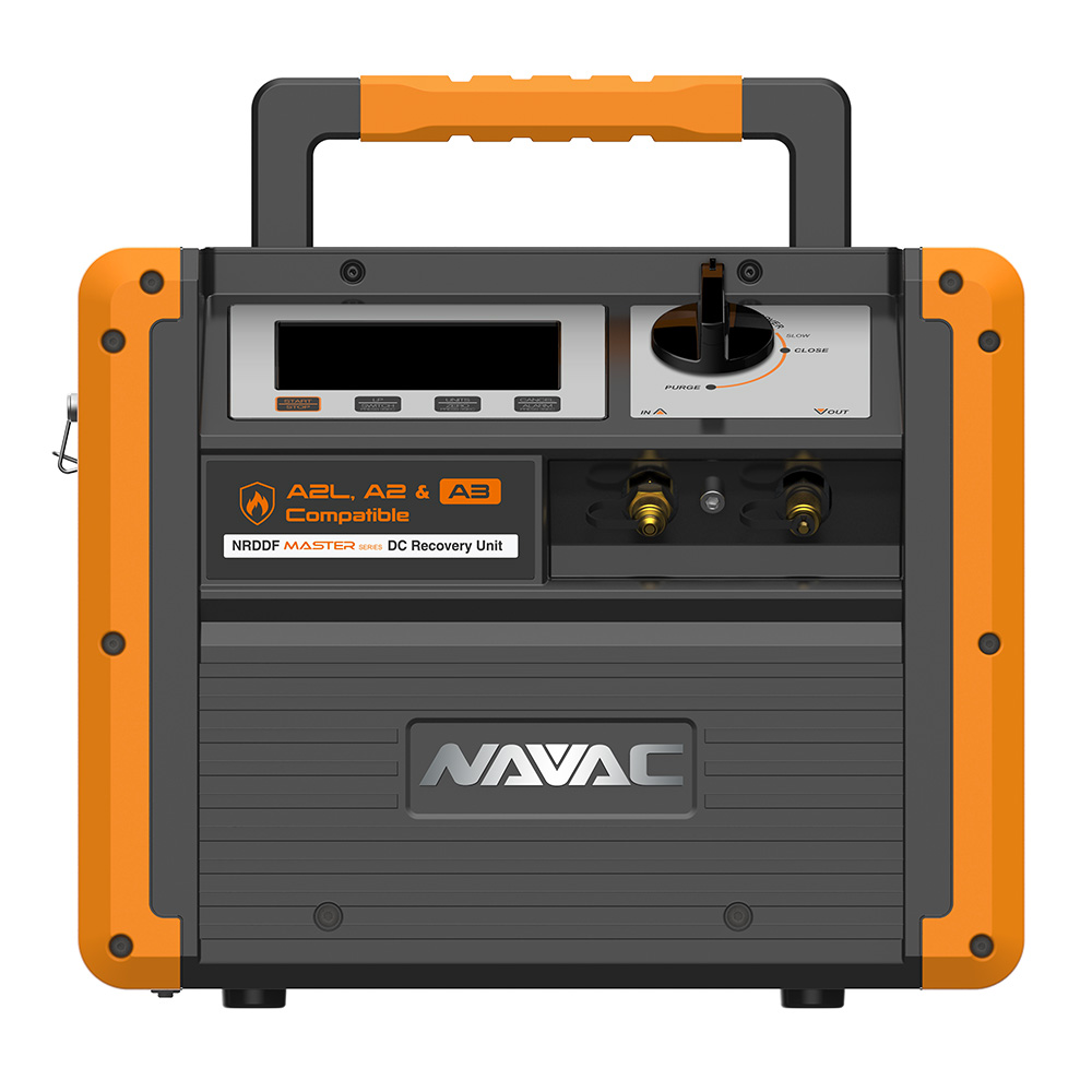 NAVAC NRDDF Dual Cylinder Recovery Unit for Flammable Refrigerants