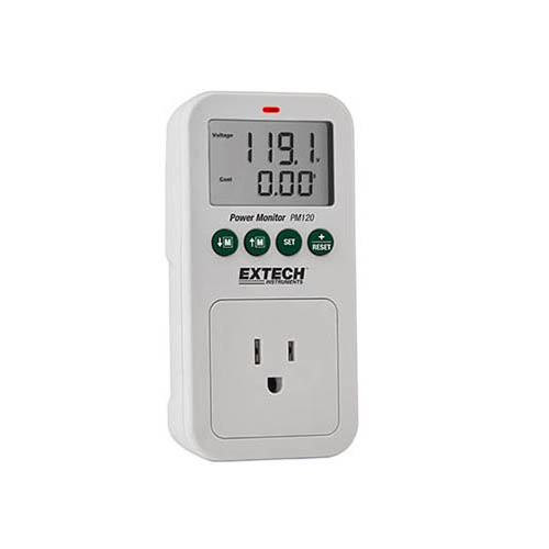 Extech PM120 Appliance Power Usage Monitor