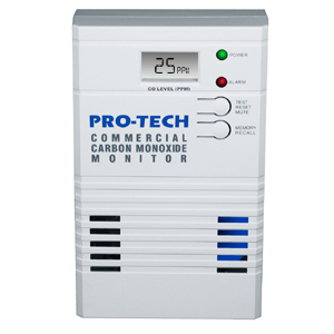 Pro-Tech 8505 Commercial Carbon Monoxide Monitor (OSHA levels)
