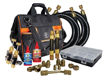 TTT Rapid Evac (TM) Kit with Fittings, Core Tools and Bag