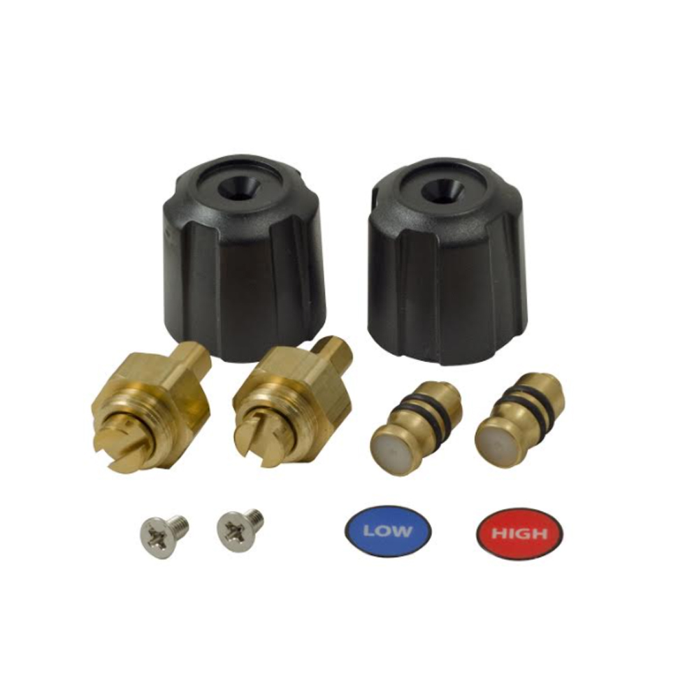 Fieldpiece RSMANK6 Replacement Valve and Knob Kit for Digital Manifolds