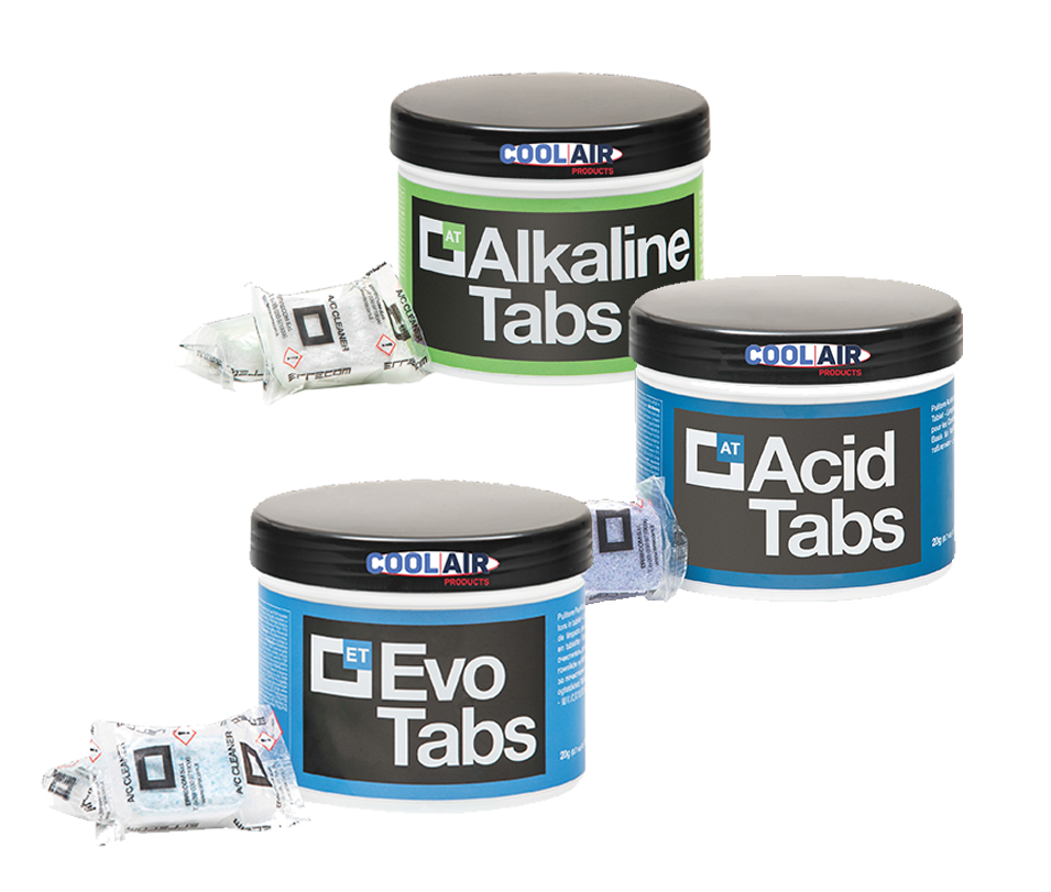Tabs Sample Bag - Acid Tab, EVO Tab, Alkaline Tab