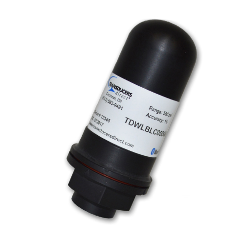 Transducers Direct LC Lightweight Wireless Pressure Transducer - 650PSI 1% Accuracy