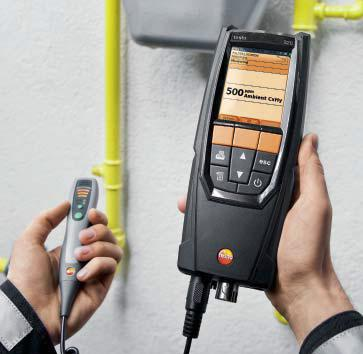 Optional gas detecttion probe for the Testo 320