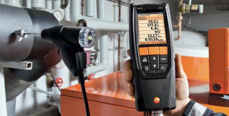 Measuring draft with the Testo 320 combustion analyzer