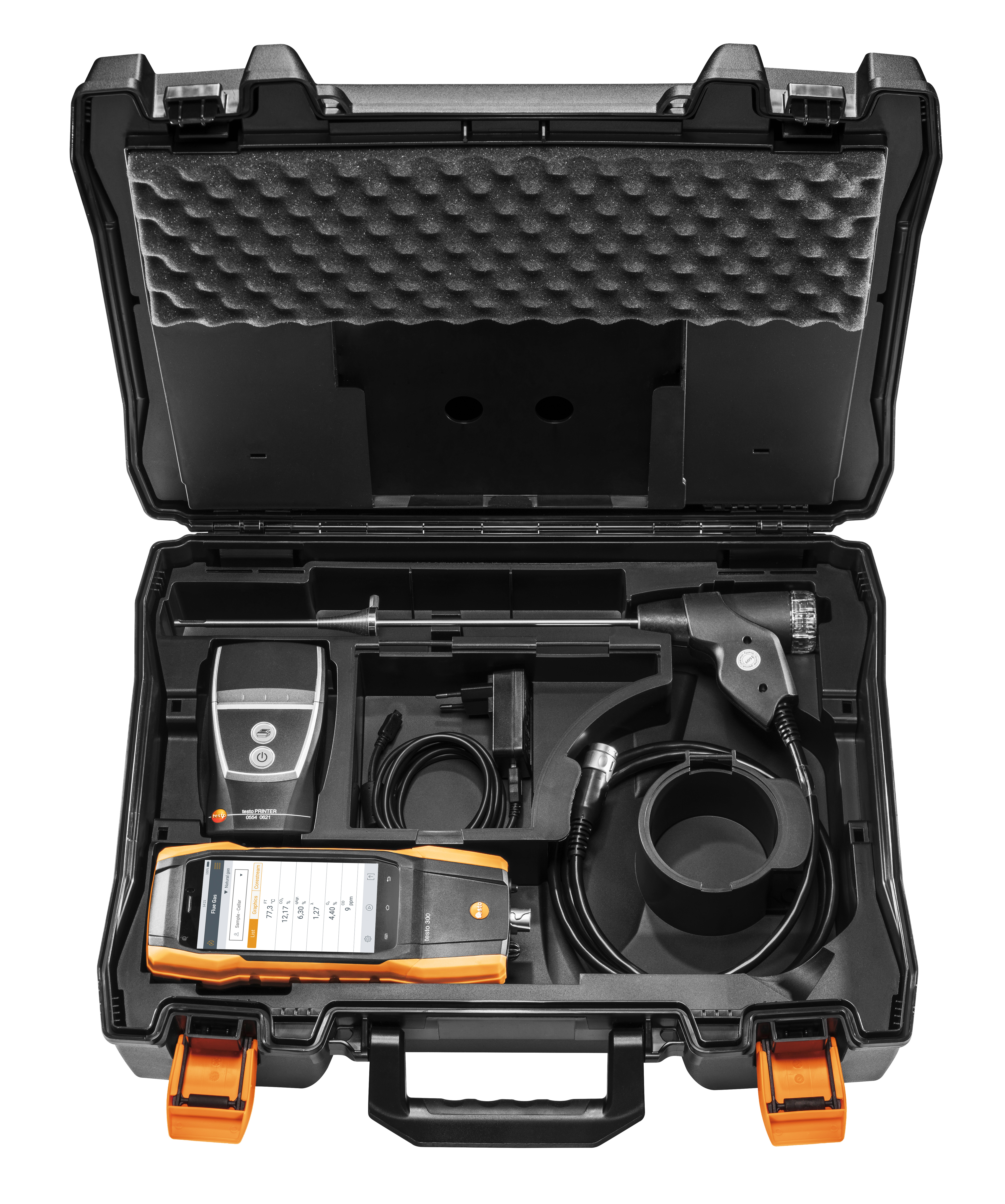 Testo 300 LL - Residential / Commercial Combustion Analyzer with Printer