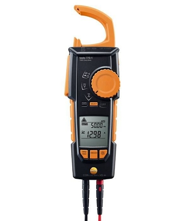 Testo 770-1 Hook-Clamp Digital Multimeter with TRMS Inrush