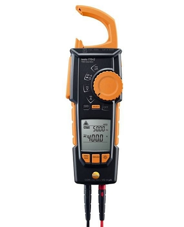Testo 770-2 Hook-Clamp Digital Multimeter with TRMS, Inrush, Temperature