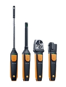 Testo VAC Smart Probe Kit Smart Phone probes w/ BlueTooth for complete AC & ventilation tests