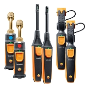 Testo Smart Probes AC / Refrigeration Capacity Test Kit-Long Range BlueTooth Probes