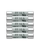 Testo 0590 0005 Spare Fuses 10 A/600 V (pack of 5)