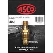 ASCO 40J Propane Tank to Hose Adapter
