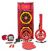 Retrotec US5210 Blower Door with Model 5000 Double Fan - Large Cloth Panel