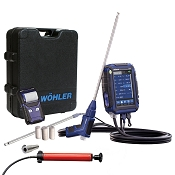 Wohler A 450 Combustion Analyzer Professional Set - 10,000 PPM