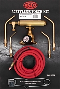 ASCO AK41-S 4-in-1 Acetylene Torch Kit w/Spring End Hose