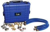 Accutools A10757-3 TruBlu Professional Evacuation Kit (3 hoses, each 1 m)