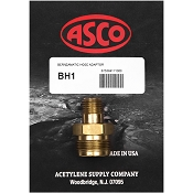 ASCO BH1 Disposable Appliance to Hose Adapter
