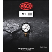 ASCO GP1 Working Pressure Gauge