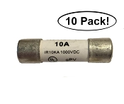 Redfish 10A 1000V Fast Blow Fuses (10 Pack)