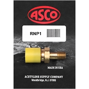 ASCO RNP1 Propane Regulator Inlet Nut and Nipple
