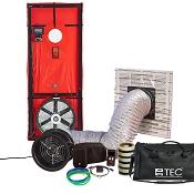 TEC Minneapolis Advanced Home Performance Kit - Blower Door and Duct Blaster Combo with DG-1000 and DG-8 Digital Gauges