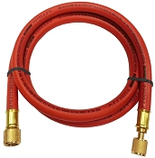 Appion RED 3/8 dia hose, str 1/4