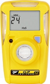 BW Clip 2-Year H2S Single Gas Detector