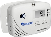 Defender CD8180 Battery Powered Commercial Carbon Monoxide (CO) Detector - Alarm (OSHA)