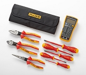 Fluke IB117K Insulated Hand Tools Starter Kit with 117 Electrician's Multimeter