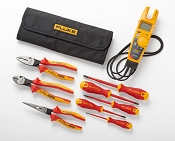 Fluke IBT6K Insulated Hand Tool Starter Kit with T6-1000 Electrical Tester