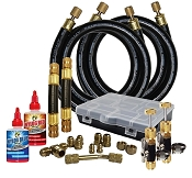 TTT Rapid Evac (TM) Kit with Fittings and Core Tools