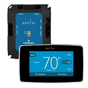 Sensi Predict HVAC Monitoring Kit by Emerson with Smart Thermostat - Black