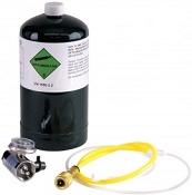 Sensit 881-00016 Calibration Gas Kit with Pump for the HXG-3, 2.5% CH4, 21L