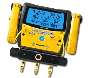Fieldpiece SMAN340 Digital Manifold with Clamps
