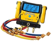 Fieldpiece SMAN340 Digital Manifold with Clamps with 72