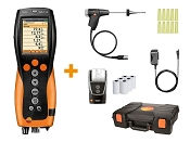 Testo 330-1G LL Commercial Analyzer with Bluetooth, Printer, and NOx - Kit 4