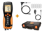 Testo 330-2G LL Commercial / Industrial Analyzer with Bluetooth and NOx - Kit 2
