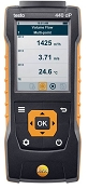 Testo 440 dP Air Velocity and IAQ Measuring Instrument with Differential Pressure Sensor