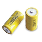 Robinair TIF-8806A Replacement Rechargeable Ni-Cad Battery for TIF8900 (2-Pack)