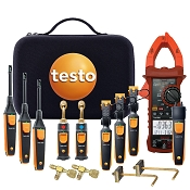 Testo Professional Smart Probe Kit for measureQuick with Electrical and Pressure - TTT Exclusive