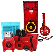 Retrotec 5100 Blower Door and 340 Duct Tester w/ DM32 Control Pack