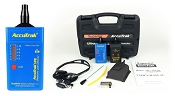 AccuTrak VPE PLUS Ultrasonic Leak Detector Kit with Contact Probe, Stereo Headphones, and Sound Generator