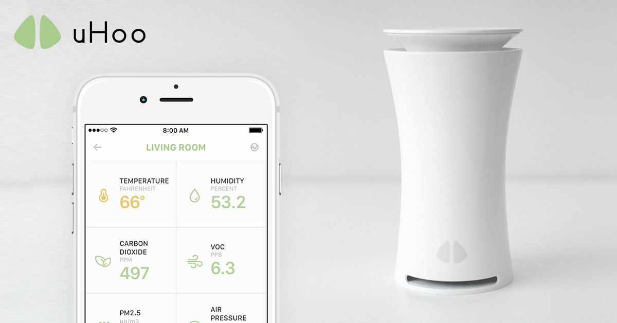 uHoo Indoor Air Quality Detector for 9 Parameters