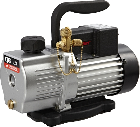 CPS VP2S Premium Series Vacuum Pump 2 CFM Single-Stage, Dual Voltage