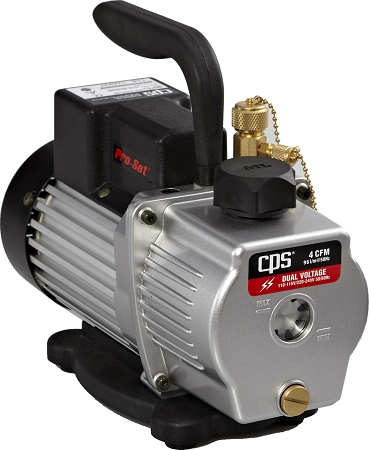 CPS VP4S Premium Series Sparkless Vacuum Pump 4 CFM Single-Stage