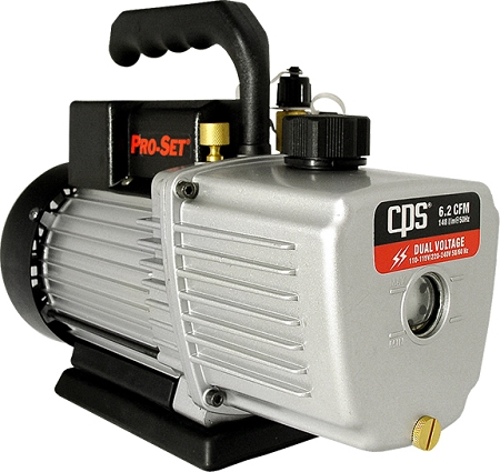 CPS VP6D Premium Series Vacuum Pump 6 CFM Two-Stage