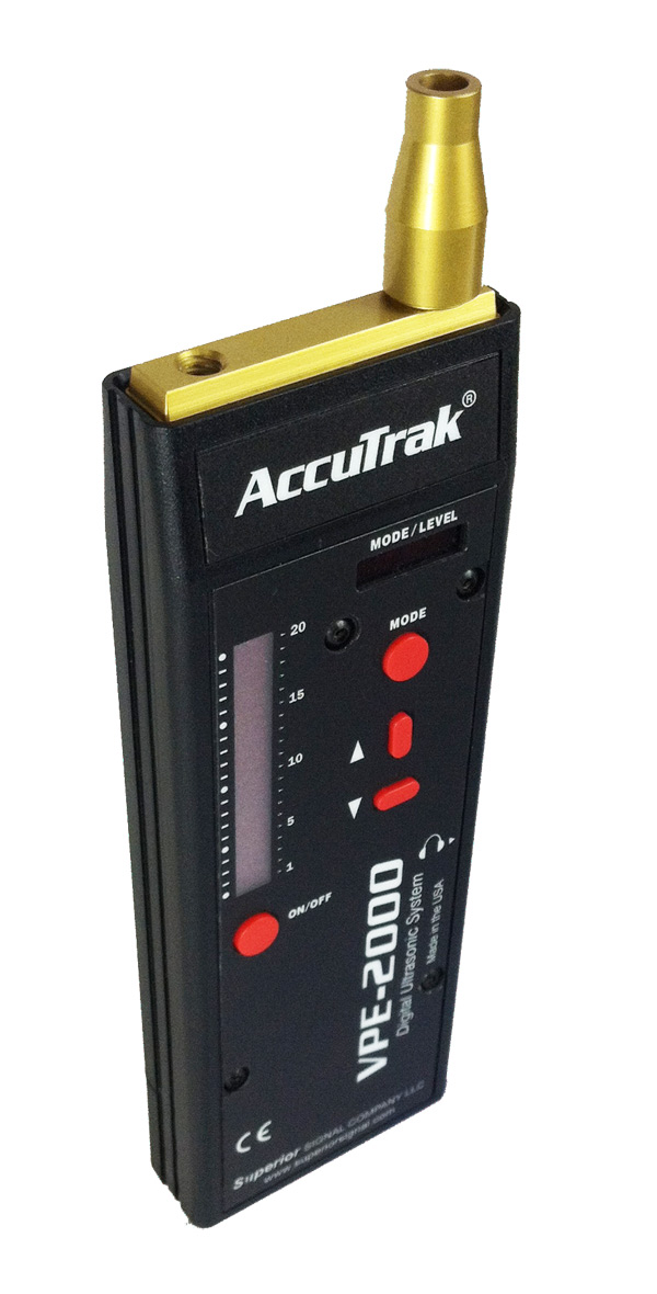 AccuTrak VPE-2000 Digital Ultrasonic Leak Detector Kit