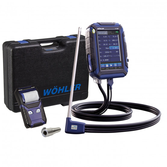 Wohler A 450 L Combustion Analyzer Basic Set - 5,000 PPM